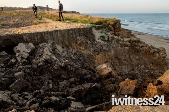 Cliff Collapse at Happisburgh.