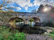 Eaton Bridge in the autumn sun