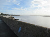 Exmouth sea-front from Mamhead Slipway