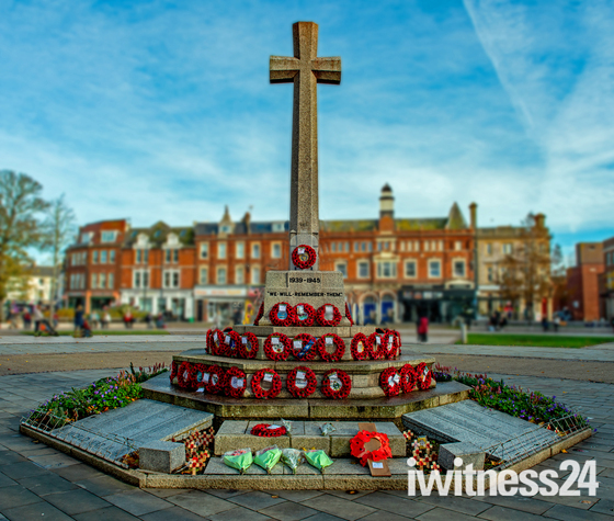 Exmouth War Memorial, November 2020