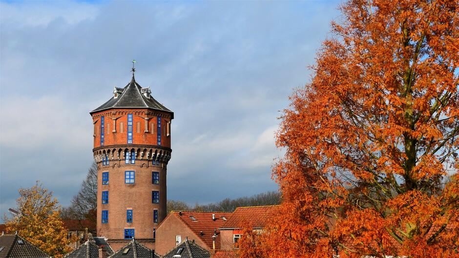Herfst Rond de Watertoren in Gorinchem
