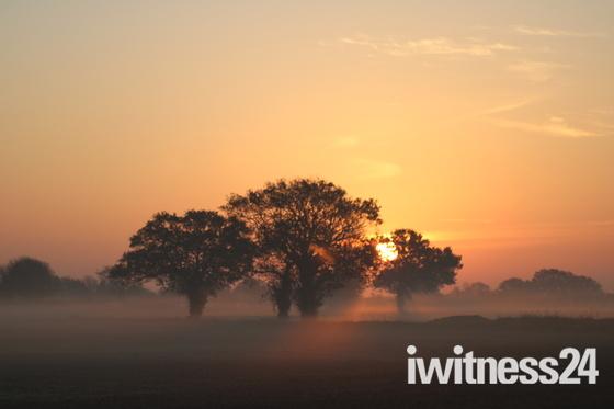 Sunrise near Long Stratton