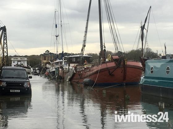 Flooding in Woodbridge