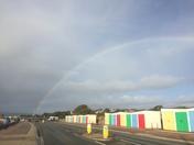 Rainbow hug for seafront