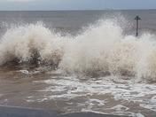 A rough Novemver sea