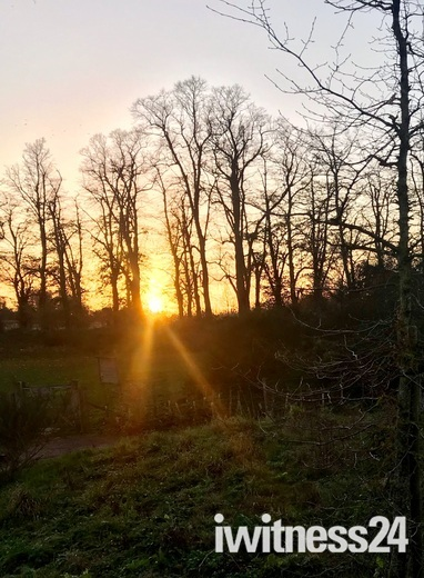 Sunset at Whitlinham Country Park