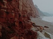 Crumbling cliffs of Sidmouth