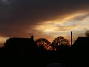 SUNSET OVER HEMPTON