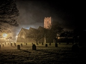 Saint Andrew's Church in the mist