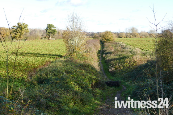 OLD RAILWAY LINE AT SHEREFORD
