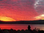 Stunning Exmouth sunset