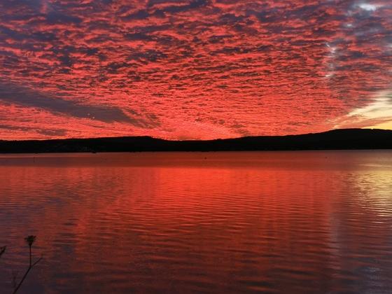 River Exe at sunset