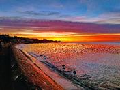 Exmouth Seafront Spectacular Sunrise