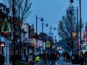 Christmas lights in Felixstowe 2020