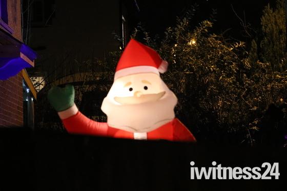 Santa spotted in Honiton!