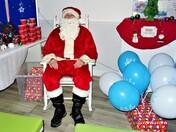 Santa visits Woolbrook News