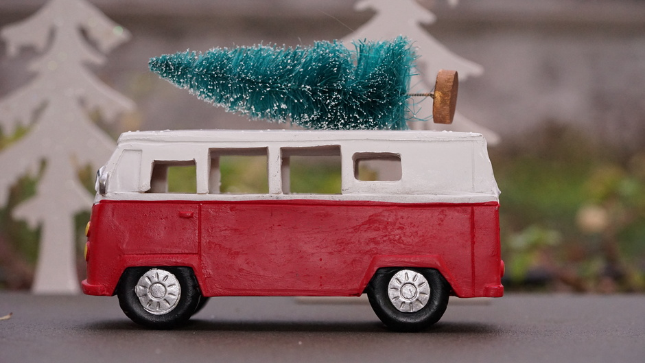 Nog snel een kerstboom gehaald