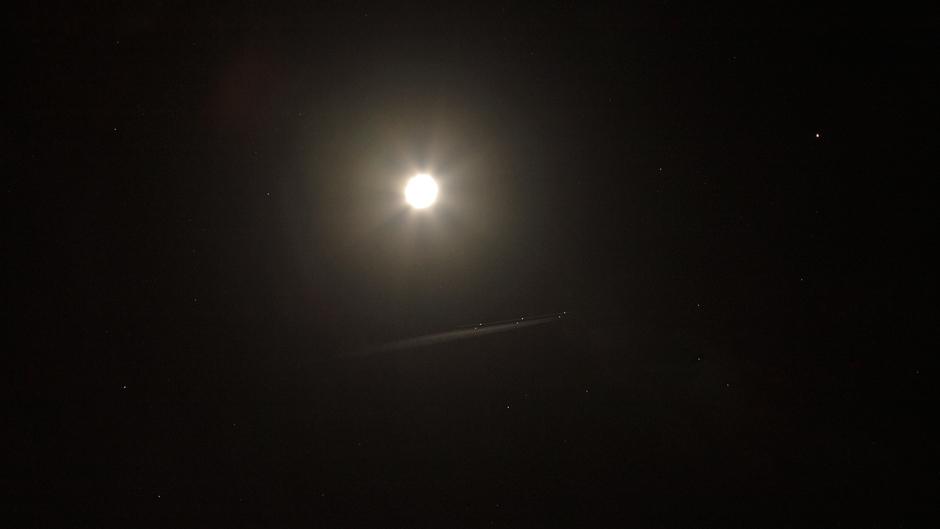 Maan en Mars