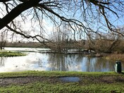 Flooded Southern Park at Bowthorpe