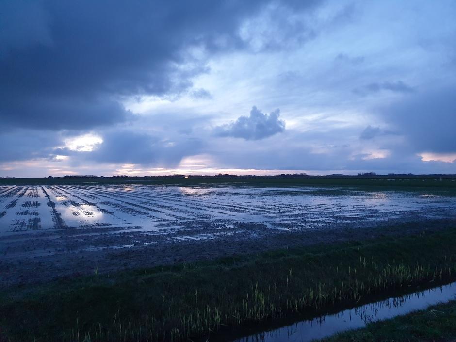 Nog meer regen op Texel?