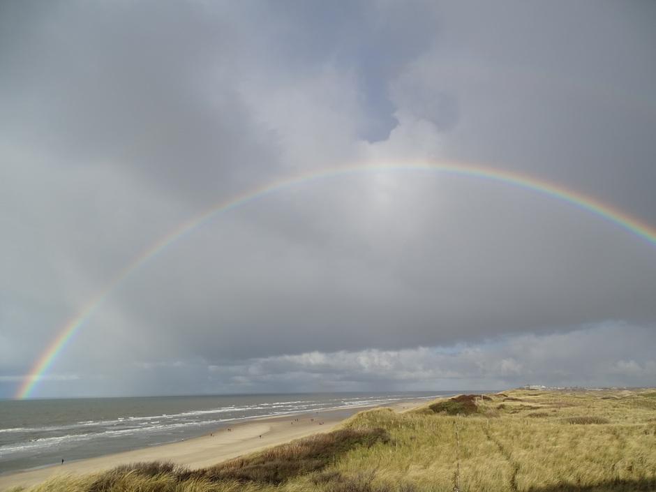 Regenboog Egmond aan Zee