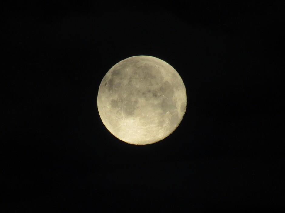 Volle maan, oudejaarsdag, 31 december 2020