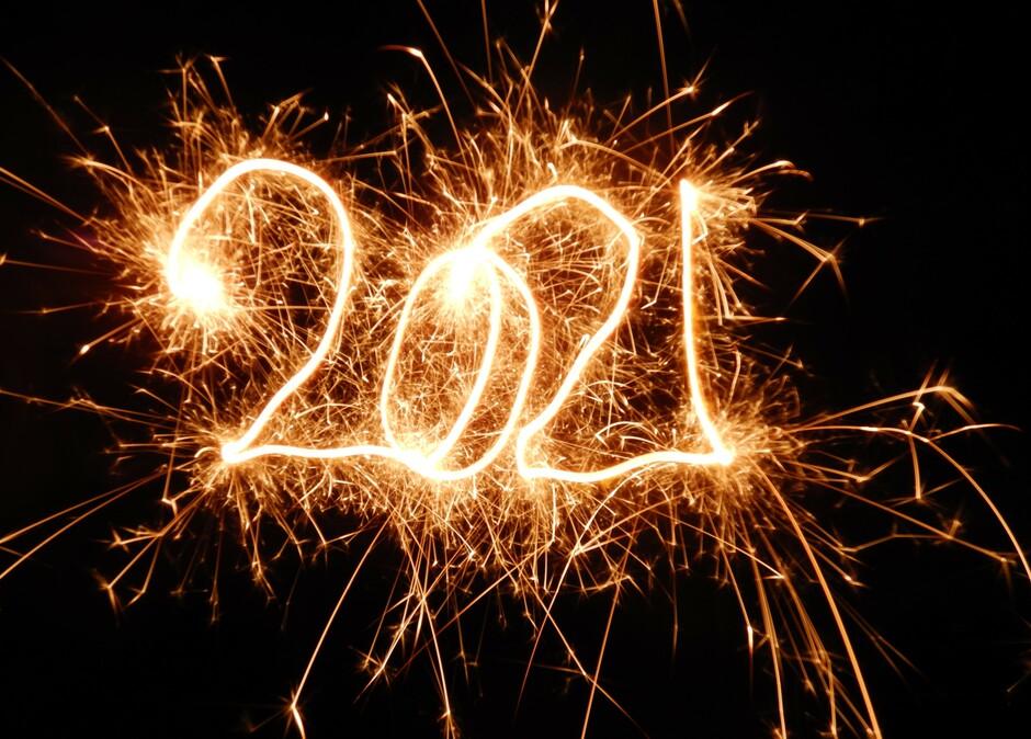 Een gelukkig Nieuwjaar toegewenst