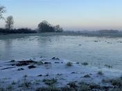 Floods gone now ice