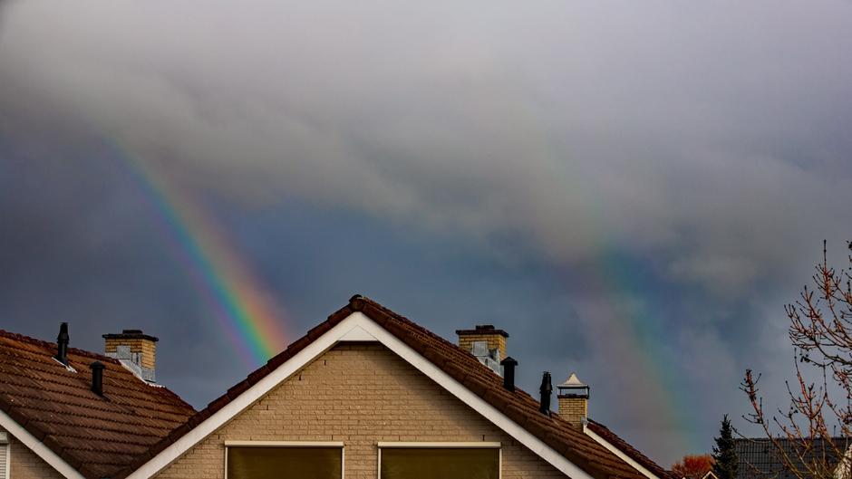 Dubbele Regenboog WeerFoto