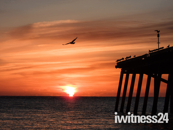 Lowestoft Beach Sunrise