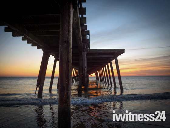 Lowestoft Beach Sunrise