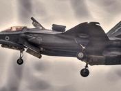 F-35s practicing at marham
