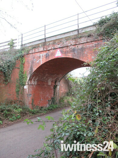 Railway viaduct over Sowden Lane, Lympstone