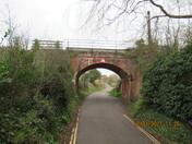 Railway viaduct over Sowden Lane, Lympstone