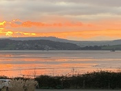 Sunset over Exe Estuary