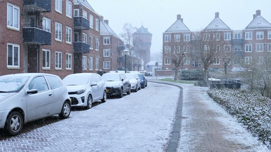 16-1-2021 Gorinchem sneeuw