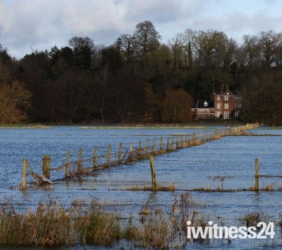 floods over Bungay common