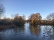 Flooded at Ringland