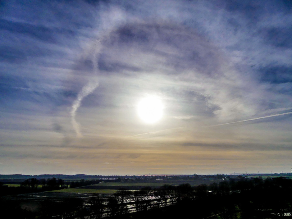 Dubbele kring om de zon