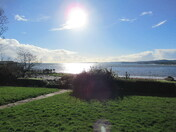 Looking across Exmouth sea-front from Louisa Terrace
