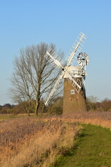 Beautiful Hardley Mill and marshes