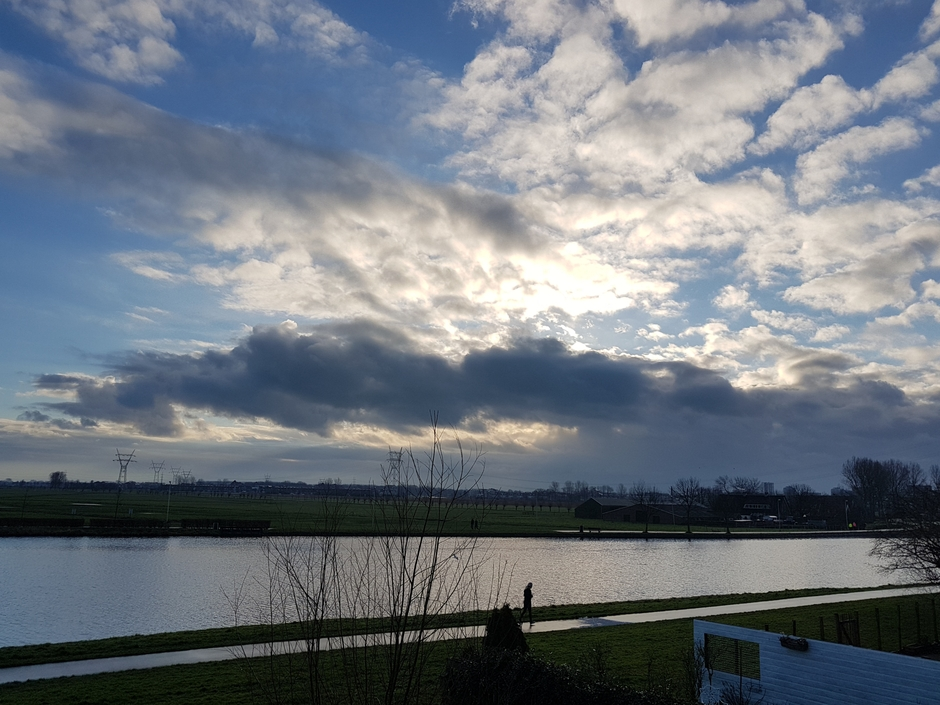 Wolken weer