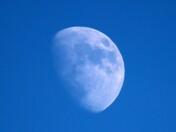 Mid-Afternoon Moon