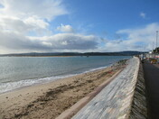 Exmouth sea-front.