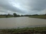 Floods near Kersey Mill