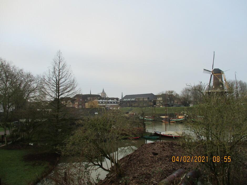 Grijs en grauw boven Gorinchem