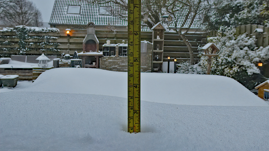 Zes Centimeter Sneeuw