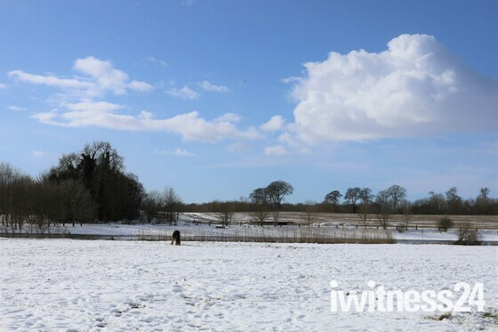 Southern Park Bowthorpe in the Snow