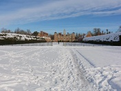 Snow at Blickling
