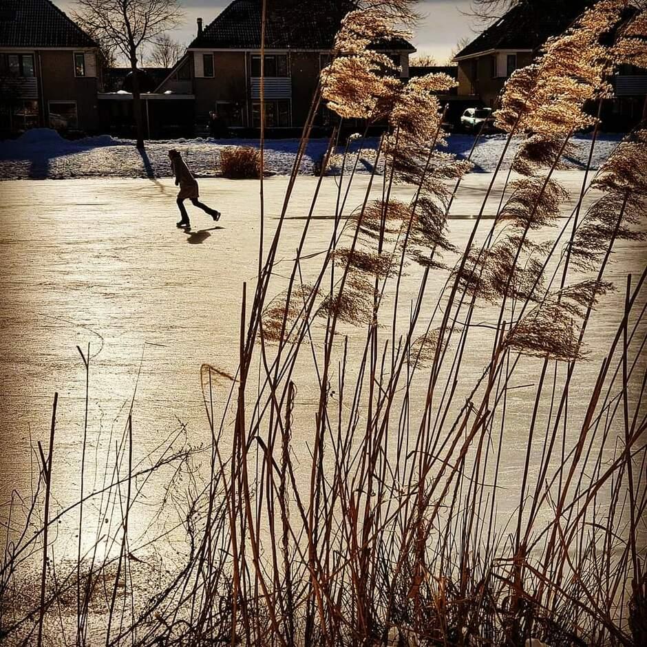 Laatste schaatsrondes